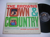 The Browns Town & Country 1960 Mono LP