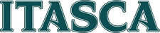 ITASCA RV LOGO Lettering decal Graphic Dark Teal