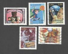 France oblitérés - Le siècle au fil du timbre N°3372 à 3376 - TB
