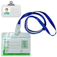 Porta Badge Pass Tesserino Carta Scheda Nome Collo Laccio Identificazione 600