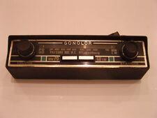 POSTE RADIO AUTORADIO SONOLOR PO GO OCCASION D EPOQUE 2CV R4 FIAT 500 600