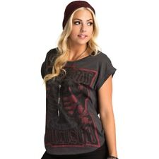 Metal Mulisha Ladies Daggers Top Size S