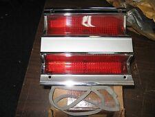 NOS Mopar 1968 Plymouth Fury II station wagon left inner taillight lens & bezel