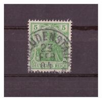 Deutsches Reich, MiNr. 70 K 1 Freudenstadt 23.02.1904