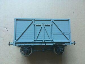 0 gauge 7mm Open Wagon Plastic Construction Kit Built