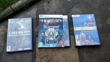 ~*~  Joblot Dvd's - Call Of Duty,Solar Empire, Medieval 2 Total War ~*~