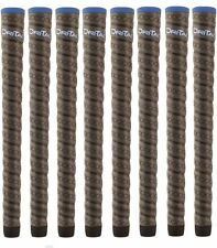 8 Winn MIDSIZE Dri-Tac Wrap Grips 6DTWR-DG + FREE GRIP KIT w /TAPE,SOLVENT,VISE