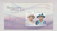 Australia 2019 : The Queen's Birthday 2019 - Minisheet, Mint Never Hinged