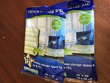 8 PACK Space Saver Vacuum Storage Bags 4Large+4Medium