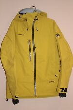 MAMMUT Alyeska GTX Pro 3L Men's JACKET Salamander MEDIUM NEW