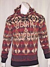 Denim Supply Ralph Lauren Native American Southwestern graphic hoodie size xl