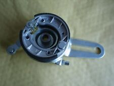 Rear brake plate and shoes assy. Factory Bike Malaguti YR15 minibike. 02L-219
