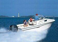 "Conventional Walk Around Cuddy Cabin Boat Cover 24'5"" to 25'4"" Max 102"" Beam I/O"