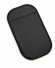 6 pcs Anti-Slip Auto Gel Pads CNYMANY 3 Types Extra Thick Sticky Non-Slip Dashboard Mat for Cell Phone Sunglasses Key Coin Black