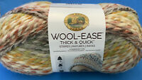 Lion Brand Yarn 640-612 Wool-Ease Thick & Quick, Coney Island (Pack of 3 skeins)