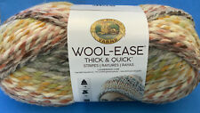 Lion Brand Yarn 640-612 Wool-Ease Thick & Quick, Coney Island