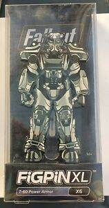 FiGPiN XL - FALLOUT T-60 POWER ARMOR (Number X6)  New (Damaged Box)