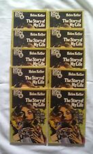 Lot of 10 Helen Keller The Story of My Life Pendulum Press 1974 IIllustrated Bks