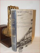 MARCO POLO: IL MILIONE 1988 MERIDIANI MONDADORI Viaggi 2a ediz. Cina Asia Seta