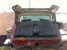 Rolls Royce Couch;Body Section cut from 1974 Silver Shadow Includes Back Glass