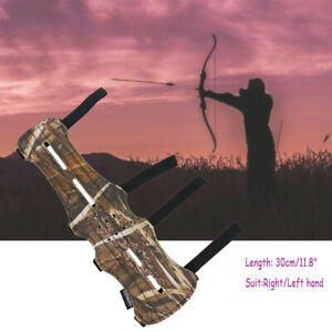 Archery Bow and Arrows Leather Arm Guard Outdoor Hunting Shooting Arm Protector