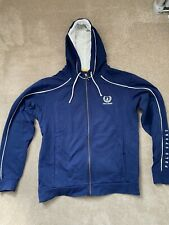 POLO SPORT Men's Blue Limited Edition Custom Fit Zip Hoodie Size Large