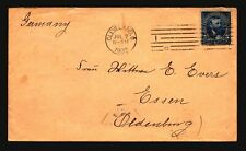 US 1902 Cover to Germany / Cleveland Machine Cancel - Z19357