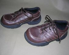 OshKosh B'gosh Marc Brown Leather Lace-Up Dressy-Casual Shoe Toddler Boy 10M NEW