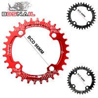 DECKAS BCD96mm 32-38t Chainring Narrow Wide Mountain Bike Bicycle Chainwheel