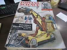 VINTAGE - POPULAR SCIENCE - OCTOBER 1950 - TELEVISIONS FIVE RING CIRCUS - VG