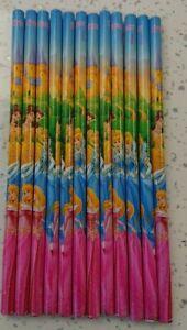 Disney Princess Pencils Multi Colour HB Pack of 12 - Ideal Party Bag Filler