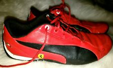 Puma Men's Kids Red Ferrari Sneakers Size 5 us UK size 34 EUR size 37 Kids
