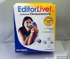 Bildbearbeitung Software EDITORLIVE! mit Firewire Kabel für Windows 98, 2000, XP