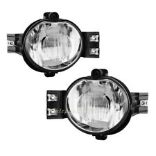Pair Clear Fog Bumper Lights Set For Dodge 02-08 Ram1500 2500 3500 04-06 Durango