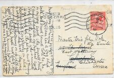 PAQUETBOT REDIRECTED PPC 6/7/1926;COLOMBO - EAST WITTERING via CHICHESTER