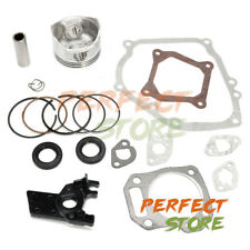 Rebuild Gaskets Kits For Honda GX160 GX200 5.5HP 6.5HP Piston Rings & Insulator