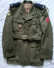veste uniforme Ml 1939 s/ officier 24 Rgt Artillerie 5e DB WW2 Indochine French