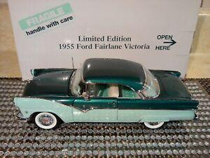DANBURY MINT 1955 FORD VICTORIA ..1:24..SUPER RARE LE..NIB..UNDISPLAYED PRISTINE
