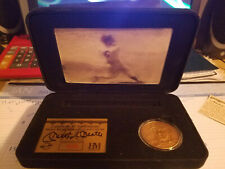 YANKEES MICKEY MANTLE HIGHLAND MINT ROOKIE MOTION CARD/COIN SET LIMITED EDITION