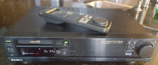Sony EV-S3000 Hi8 Video Recorder Deck w/ Remote (See Description)
