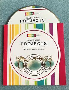 Jewellery Maker MACRAME PROJECTS DVD
