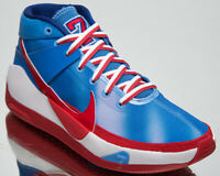 Nike KD 13 Brooklyn Nets Hardwood Classic Edition Men's Blue Red Basketball Shoe