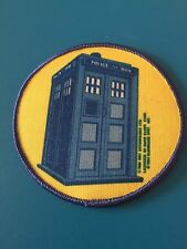 10 VINTAGE DOCTOR WHO PATCH TARDIS LOT