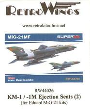RetroKits Models 1/144 MIKOYAN MiG-21KM-1 EJECTION SEATS Resin Conversion Set