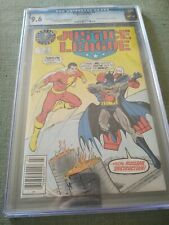 Justice League #3 Rare SHAZAM Batman DC LOGO TEST VARIANT 1987 CGC NM+ 9.6
