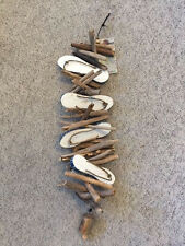 NWT Cohasset Wind Chime 4 Flip Flops Driftwood and Bell