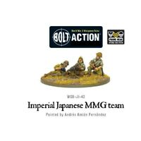 Bolt Action - Imperial Japanese Mmg Team - Warlord Games World War 2 Army