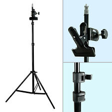 Photography Photo Studio Mount C-Clamp with Rubber Holder Clamp Light Stand New