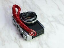 Barton Classic Camera Leather Wrist Strap for Leica Nikon 15.7 inch / 40 cm