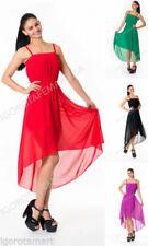 93fffb3c3a Women s Polyester High Low Dresses